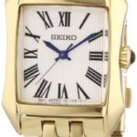 Seiko Damen-Armbanduhr Analog Quarz Edelstahl beschichtet SXGP22P1 B009RKGPQW