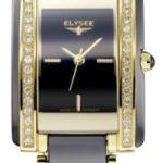 ELYS5|#Elysee Elysee Damen-Armbanduhr GRACE Analog Keramik 30013 B007PAEJVY