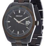 DKNY Herren Armbanduhr Essentials Schwarz NY1270 B000FVCM82