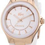 Lacoste Damen-Armbanduhr Analog Quarz Silikon 2000774 B00ENWRN74