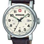 Wenger Herren-Armbanduhr XL Urban Classic Analog Quarz Leder 01.1041.101 B00FUA3HVY