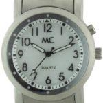 MC Timetrend Herren-Armbanduhr Analog Quarz Beleuchtung Flexband 25125 B007UQMP96