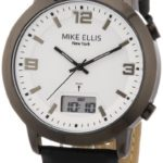 Mike Ellis New York Herren-Armbanduhr Analog – Digital Quarz Leder M2941ANU/1 B00DIR7LV8