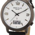 Mike Ellis New York Herren-Armbanduhr Analog – Digital Quarz Leder M2941ANU/1 B00DIR7LV8