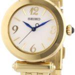 Seiko Damen-Armbanduhr XS Analog Quarz Edelstahl beschichtet SRZ404P1 B00FDU85MW
