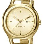 Esprit Damen-Armbanduhr Naomi Analog Quarz Edelstahl beschichtet ES107932002 B00M0TSZ88