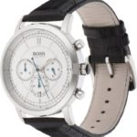 BOSS Herren-Armbanduhr Analog Quarz (One Size, silber) B00MLI4IYS