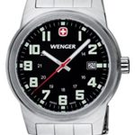 Wenger Herren-Armbanduhr XL Field Classic Analog Quarz Edelstahl 72806W B004O4C4Z2