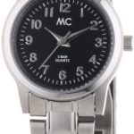 MC Timetrend Damen-Armbanduhr Analog Quarz Edelstahl 51019 B00IMB4YFG