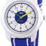 MC Timetrend Jungen-Armbanduhr Lernuhr Quarz Textil 50871 B00GGGODG4