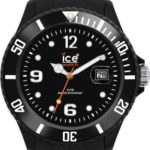 Ice Watch Ice-Watch Armbanduhr Sili-Forever Schwarz Analog Quarz SI.BK.U.S.09 B00E3BDNYC