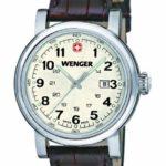 Wenger Damen-Armbanduhr XS Urban Classic Analog Quarz Leder 01.1021.101 B00FV17AHY