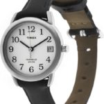 Timex Damen-Armbanduhr Easy Reader Analog Quarz (One Size, weiß) B00MJFORF8