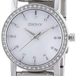 DKNY Damen-Armbanduhr XS Analog Quarz Edelstahl NY4791 B00361FGY0