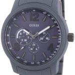 Guess Herren-Armbanduhr XL Mens Trend Multifunktion Analog Quarz Edelstahl beschichtet W0185G2 B00BLQZ2QE