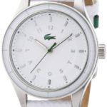 Lacoste Damen-Armbanduhr Analog Quarz Leder 2000740 B00BQ8EOWK