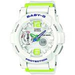 Casio Europe GmbH Casio Damen-Armbanduhr XL Baby-G Analog – Digital Quarz Resin BGA-180-7B2ER B00KR8ZNUM