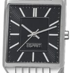 Esprit Damen-Armbanduhr Alameda Silver Black Analog Quarz Edelstahl ES104652005 B00BU0787C