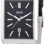 Hugo Boss Herren-Armbanduhr Analog Quarz Leder 1512915 B00FAPZ24O