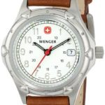 Wenger Womens 70200 Standard Issue White Dial Brown Lederarmbanduhr B000HDJC7W