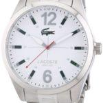 Lacoste Herren-Armbanduhr XL Analog Quarz Edelstahl 2010697 B00E8MDPGW