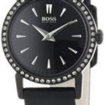 Hugo Boss Damen-Armbanduhr XS SLIM ULTRA MINI Analog Quarz Leder 1502357 B00ISUBDFK