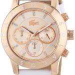 Lacoste Damen-Armbanduhr Charlotte Analog Quarz Leder 2000831 B00I5PK9F8