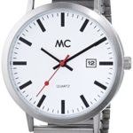 MC Timetrend Herren-Armbanduhr XL Bahnhofsuhr Analog Quarz Messing 27679 B00PUHLR0K