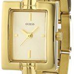 Guess Damen-Armbanduhr XS Analog Quarz Edelstahl beschichtet W0437L2 B00LSYS9MS
