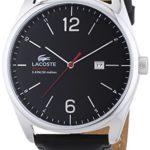 Lacoste Herren-Armbanduhr XL AUSTIN Analog Quarz Leder 2010748 B00MNFP3CK