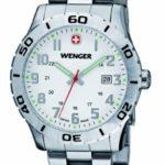 Wenger Herren-Armbanduhr XL Grenadier Analog Quarz Edelstahl 01.0741.102 B008OSOXAI