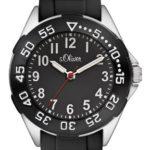 s.Oliver Jungen-Armbanduhr Analog Quarz Silikon SO-2526-PQ B008RZF050