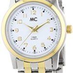 MC Timetrend Damen-Armbanduhr XS Analog Quarz Edelstahl 50891 B00PUHNNOI