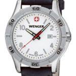 Wenger Damen-Armbanduhr XS Platoon Analog Quarz Leder 01.9211.102 B00DIT2EO0