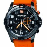 Wenger Herren-Armbanduhr XL Squadron Rescue Chronograph Quarz Silikon 60758 B00CJ8J9GM