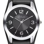 s.Oliver Damen-Armbanduhr XS Analog Quarz Leder SO-2945-LQ B00KYTG2KE