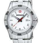 Wenger Damen-Armbanduhr XS Platoon Analog Quarz Edelstahl 01.9211.103 B00DIT2S9G