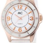 MC Timetrend Damen-Armbanduhr Analog Quarz Kunststoffband 50881 B00IMB4MXK