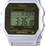 Timex Unisex-Armbanduhr Classic Digital Quarz Edelstahl TW2P58500 B00N7F8T80