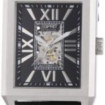 Esprit Collection Herren-Armbanduhr xanthos night Analog Automatik Leder EL101051F01 B00GA0IIPS