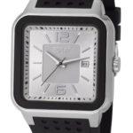 Esprit Herren-Armbanduhr Ventura Silver Black Analog Quarz Silikon ES105841002 B009XSWHSS