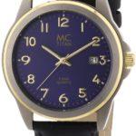 MC Timetrend Herren-Armbanduhr Analog Quarz Leder 26759 B004OR29RM