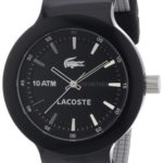Lacoste Herren-Armbanduhr XL Analog Quarz Silikon 2010657 B008U79A7Y