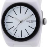 Mike Ellis New York Unisex-Armbanduhr Analog Quarz Silikon S5244CS/5 B00DNTK7YE