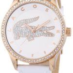 Lacoste Damen-Armbanduhr Analog Quarz Leder 2000821 B00ENWRPS6