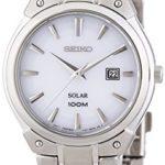 Seiko Damen-Armbanduhr XS Solar Analog Quarz Edelstahl SUT139P1 B00I14A9J4