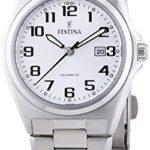 Festina Damen-Armbanduhr XS Analog Quarz Edelstahl F16375/9 B00542ZRBQ