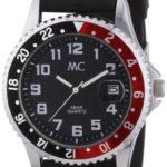 MC Herren-Armbanduhr Analog / Kunststoffband 50264 B008F5G7RM