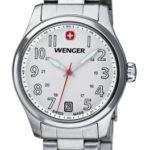 Wenger Damen-Armbanduhr XS Terragraph Analog Quarz Edelstahl 01.0521.102 B008OSPBAE