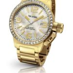 TW Steel Damen-Armbanduhr Canteen Style bracelet Analog Quarz Edelstahl beschichtet TW-310 B00GIKWV1W
